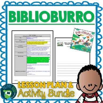 Biblioburro by Jeanette Winter 4-5 Day Lesson Plan