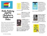 Bibliography - Books Featuring LGBTQ Characters in Middle Level