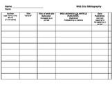 Bibliography Chart