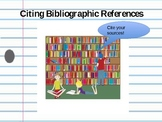 Bibliography Practice POWERPOINT - Create a Book List for a Seedfolks Character!
