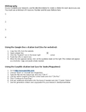 Bibliography easy instructions