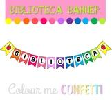 Biblioteca Banner Display - Colour me Confetti