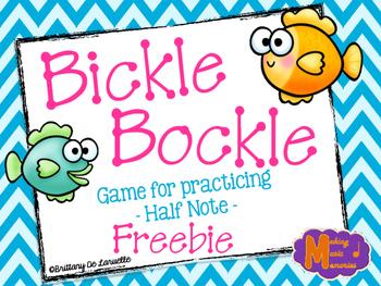 Bickle Bockle - Game Freebie