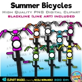 Bicycle Clipart | Bike Clipart | Summer Clip Art for Perso