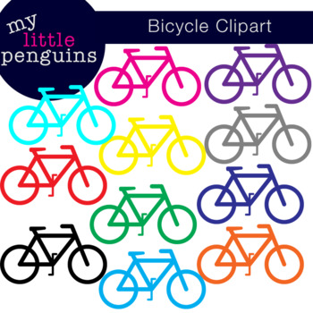 Bicycle Clipart (bike clip art png format)