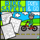 Bicycle Safety No Prep Activities