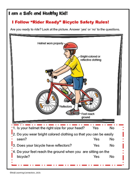 Bicycle Safety: Ready for Riding by KidZ Learning ...