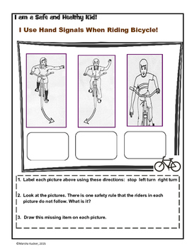 Bicycle Safety:  Using Hand Signals