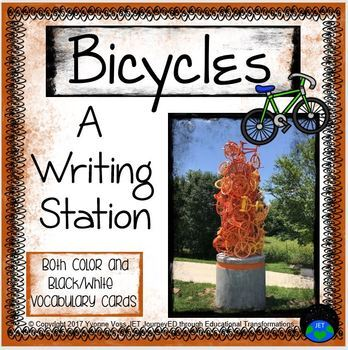 Bicycle Writing Station