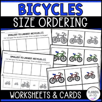 Bicycles - From Smallest to Largest