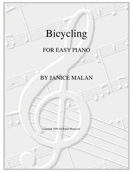 Bicycling for easy piano