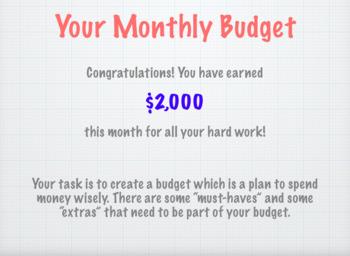 Biddy Budget- Elementary Economics