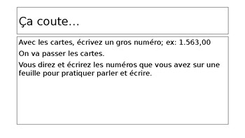 """Bien Dit 1 - 7.2 : """"asking about prices"""""""