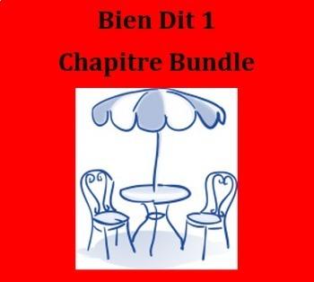 Bien Dit 1 Chapitre 1 Bundle