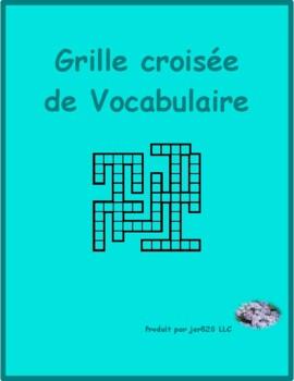 Bien Dit 1 Chapitre 1 Vocabulaire Kriss Kross puzzle