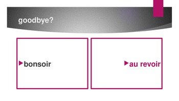Bien Dit 1 Chapitre 1 Vocabulaire Power point