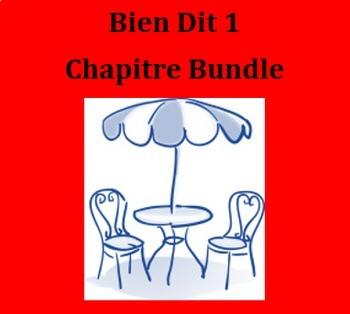Bien Dit 1 Chapitre 2 Bundle
