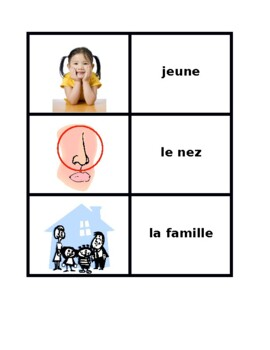 Bien Dit 1 Chapitre 3 Concentration games