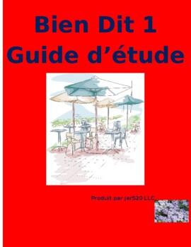 Bien Dit 1 Chapitre 4 Grammaire Study guide