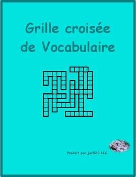 Bien Dit 1 Chapitre 8 Vocabulaire Kriss Kross puzzle
