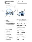 Bien Dit 1 - Chapter 3 Study Guide