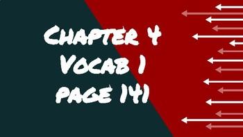 Bien Dit 1 Chapter 4 Vocabulary 1
