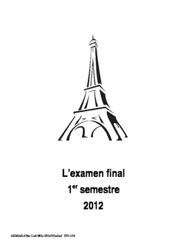 Bien Dit 1 - Final Exam Chapters 1-4.1