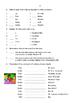 Bien Dit 1 - Final Exam Chapters 1-4.1 Study Guide