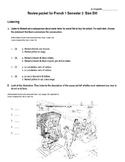 Bien Dit 1 - Final Exam, Chapters 4-6 Study Guide
