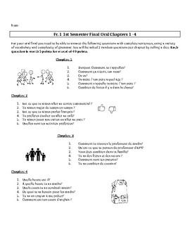 Bien Dit 1 First Semester Oral Final