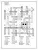 Bien Dit 2 Chapitre 3 Vocabulaire 1 and 2 crosswords