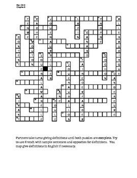 Bien Dit 2 Chapitre 6 Vocabulaire Partner Puzzle Speaking activity