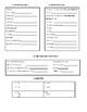 Bien Dit 2 - vocabulary list/graphic organizer Chapter 1 - Vocabulaire 1