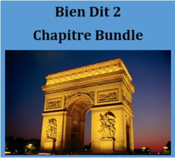 Bien Dit 2 Full French II curriculum Mega Bundle