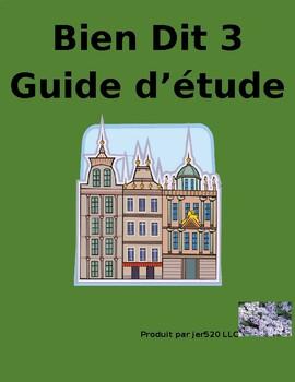 Bien Dit 3 Chapitre 4 Grammaire Study guide