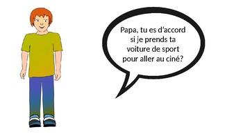 Bien Dit Ch 8 Vocabulary - Speaking Activity