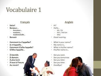 Bien Dit Chapitre 1 PowerPoint