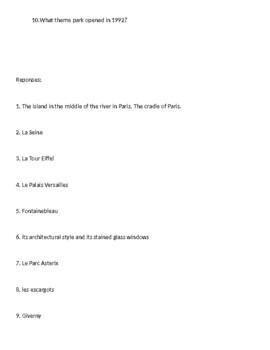 Bien Dit Chapter 1 Geoculture Activity