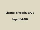Bien Dit Chapter 6 Vocabulary 1