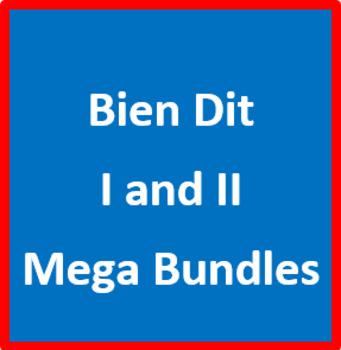 Bien Dit I and II Mega Bundle