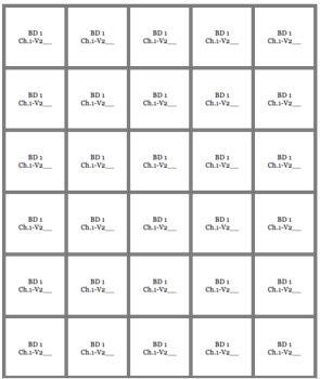 Bien Dit 1 Chapter 1 Vocabulary jigsaw puzzle BUNDLE