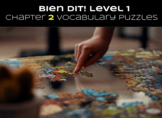 French Bien Dit! Level 1 Chapter 2 Vocabulary jigsaw puzzl