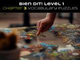 Bien Dit 1 Chapter 3 Vocabulary jigsaw puzzle BUNDLE