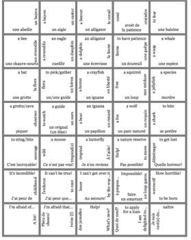 Bien Dit! Level 3 Chapter 5 Vocabulary jigsaw puzzle BUNDLE