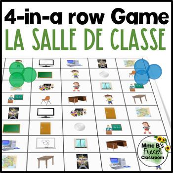 Bien dit 1 Chapitre 1: Dans la salle de classe 4-In-A-Row vocabulary game