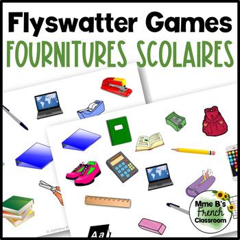 Bien dit 1 Chapitre 4: Flyswatter game Les fournitures scolaires