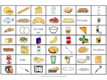 Bien dit 1 Chapitre 6: La nourriture 4-In-A-Row Game