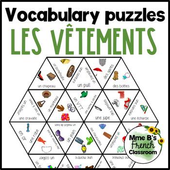 Bien dit 1 Chapitre 7 Vocabulary puzzles