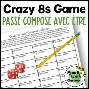 Bien dit 1 Chapitre 8: Crazy 8s Game: le passé composé avec être
