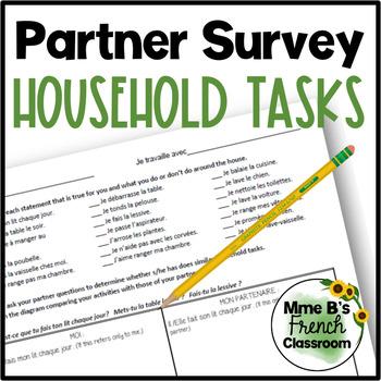 Bien dit 1 Chapitre 8: Household Tasks partner survey